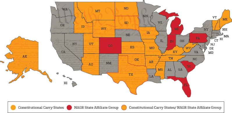 State Affiliate Map