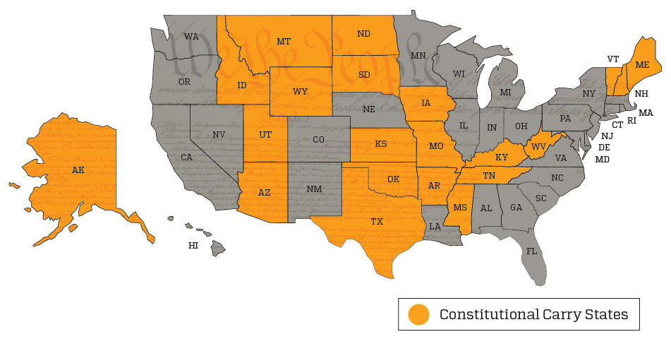 Constitutional Carry States