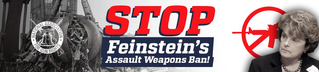 Feinstein Gun Ban So-Called Assault Weapons Ban