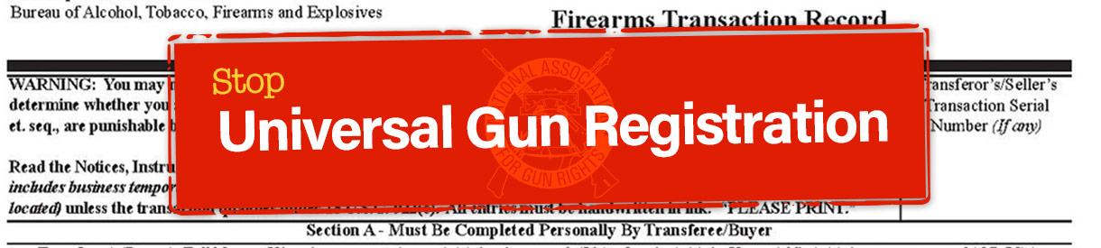 Universal Gun Registration
