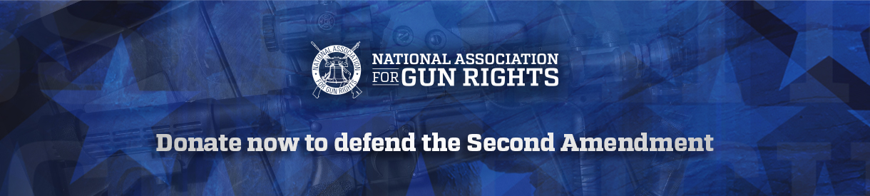 Donate now to defend the Second Amendment